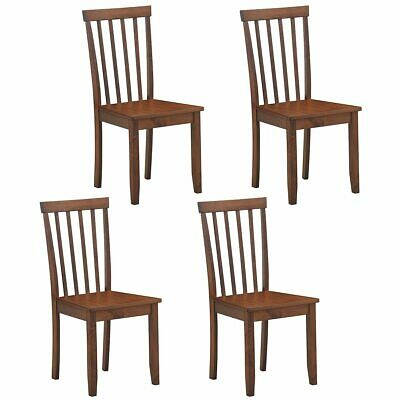 $298.18 • Buy Set Of 4 Dining Chair Kitchen Spindle Back  With Solid Wooden Legs
