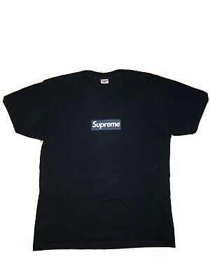 $ CDN1000 • Buy Supreme Navy MLB Yankees Box Logo T Tee Shirt Size Large L SS15 100% Authentic