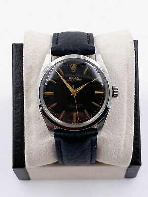 $ CDN3389.71 • Buy Rolex 1007 Stainless Steel Black Dial Oyster Perpetual 1963