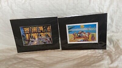 $20 • Buy Key West Matted Art Prints Of Cats