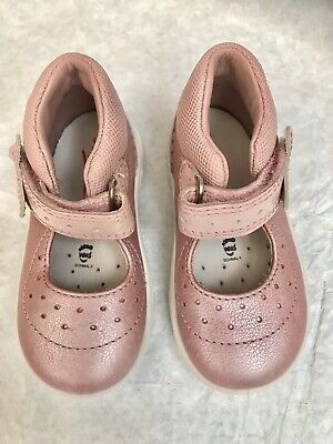 Super Fit Infant Girls Light Pink High Top Trainers • 10.99£