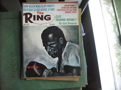 $11.99 • Buy June 1971 The Ring  Magazine With Joe Frazier                    Grobee1957