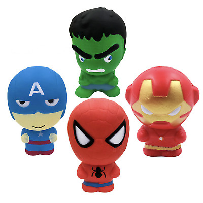 AU29.99 • Buy AU Jumbo Slow Rising Marvel Squishies Scented Squeeze Pressure Relief Kids Toys