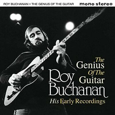 Roy Buchanan - The Genius Of Guitar - His Early Recordings [CD] NEW 2xCDs • 10.50£