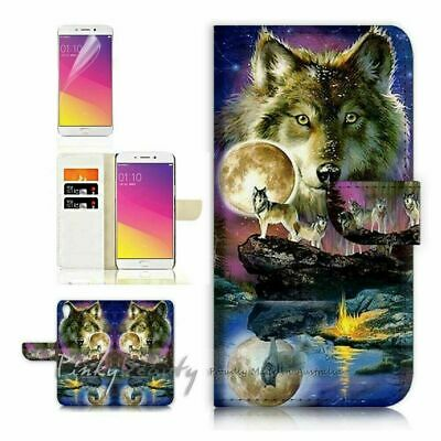 AU12.99 • Buy Wolf TPU Phone Wallet Case Cover For Huawei Y9 Prime 2019 - 21448