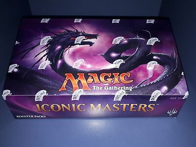 AU325 • Buy MAGIC THE GATHERING Iconic Masters - Booster Box (24 Packs)