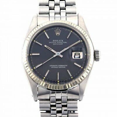 $ CDN7028.51 • Buy Free Shipping Pre-owned Rolex Datejust 1601 Gray Dial Self-Winding Watch