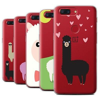 AU13.90 • Buy STUFF4 Gel/TPU Case/Cover For OnePlus 5T/Cute Alpaca