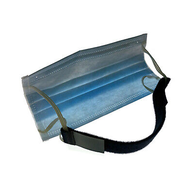 Headband Straps With VELCRO® Brand Hook & Loop For Face Mask Ear Saver X 5 • 6.49£