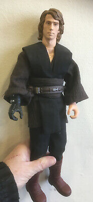 "$ CDN141.72 • Buy 12"" STAR WARS ANAKIN SKYWALKER CUSTOM With Vader Head And Outfit Not  HOT TOYS"
