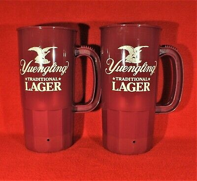 $4.99 • Buy  NEW - Yuengling Traditional Lager 24 Oz Plastic Beer Mugs With Handle-Set Of 2