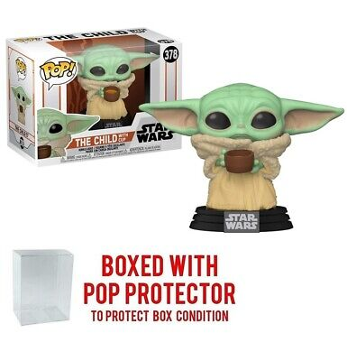 $14.99 • Buy Funko POP Star Wars The Mandalorian - Baby Yoda The Child With Cup PRE-SALE