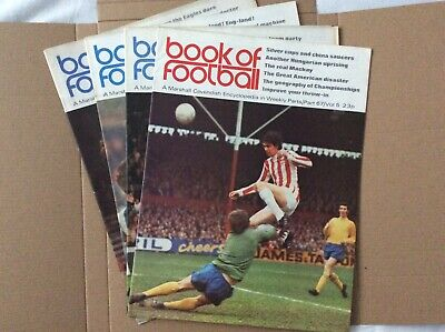 Marshall Cavendish Book Of Football Encyclopaedic Parts 67 - 70 • 5.99£