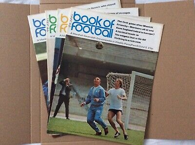 Marshall Cavendish Book Of Football Encyclopaedic Parts 63 - 66 • 5.99£