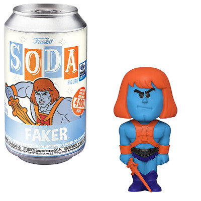 $28.99 • Buy Faker – Masters Of The Universe Vinyl Soda [WonderCon Shared Exclusive]