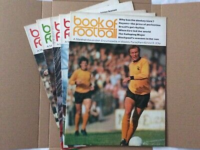Marshall Cavendish Book Of Football Encyclopaedic Parts 43 - 47 • 7.99£