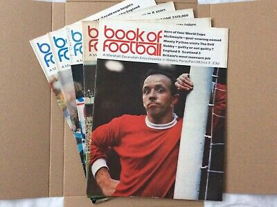 Marshall Cavendish Book Of Football Encyclopaedic Parts 38 - 42 • 7.99£