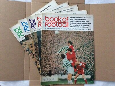 Marshall Cavendish Book Of Football Encyclopaedic Parts 13 - 17 • 7.99£