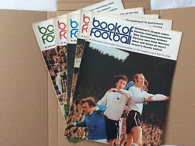 Marshall Cavendish Book Of Football Encyclopaedic Parts 8 - 12 • 7.99£