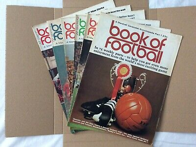 Marshall Cavendish Book Of Football Encyclopaedic Parts 1 - 6 • 7.99£