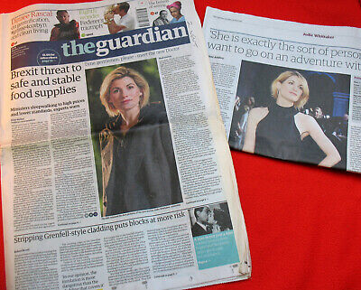 The Guardian 170717: Announcing Jodie Whittaker As Doctor Who. Sale4CharityDo. • 4.50£