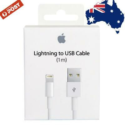 AU4.95 • Buy IUSB Lightning Charging Cable For Genuine Apple Charger IPhone 5 6 6S 7 8 X XS