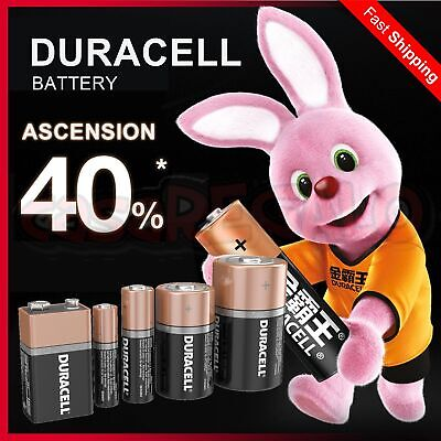 AU18.95 • Buy Duracell AA AAA 9V C D Battery 1.5V Duralock Batteries Longest