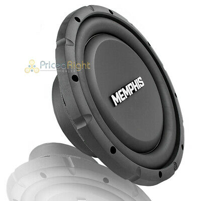 $119.95 • Buy Memphis 10  Subwoofer Shallow 500W Max Single 4 Ohm Power Reference Srxs1040