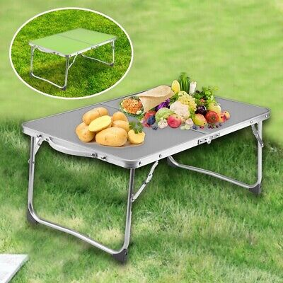 New Folding Laptop Bed Tray Table Portable Lap Desk Notebook Breakfast Cup Slot • 11.99£