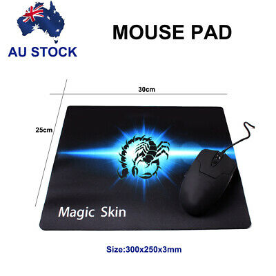 AU6.99 • Buy Mouse Pad Desk Pad Gaming Anti-slip Rubber Mousepad For Computer Laptop