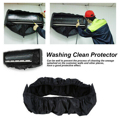 AU32.20 • Buy Air Conditioner Cover Waterproof Bag Cleaning Home Washing Protector + 3M Pipes