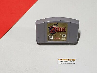 $43.95 • Buy The Legend Of ZELDA Ocarina Of Time  - Authentic N64 Nintendo 64 Game