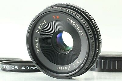 $224.99 • Buy 【MINT】 Contax Carl Zeiss Tessar T* 45mm F/2.8 MMJ Lens For CY Mount From JAPAN