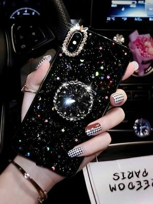 $ CDN10.02 • Buy Bling Sparkle Case Cover With Diamond Holder For Samsung Galaxy A51 A71 S21 Plus
