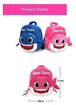 $13.95 • Buy YELLOW Baby Shark Backpack (PLUSH) FREE USA SHIPPING (Pink, Blue, Yellow)