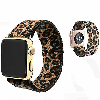 AU12.80 • Buy Stretchy Elastic Replacement Band Loop For Apple Watch Series 5 4 3 Wrist Strap