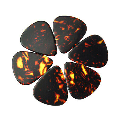 $ CDN15.33 • Buy 100pcs Heavy 0.96mm Blank Guitar Picks Plectrums Celluloid Brown Tortoise