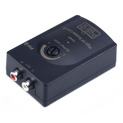 £5 • Buy New Car Audio RCA Speaker Level Line Output Converter High To Low