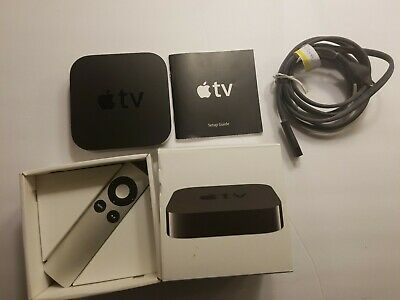 AU115.90 • Buy Apple TV 3rd Generation With Remote Box - A1469