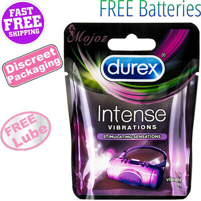 AU11.99 • Buy DUREX Intense Vibrating Cock Penis Ring Vibrator Clitoris Massager Delay Sex Toy