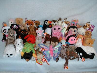 £2.49 • Buy TY BEANIE BABIES BOOS BABY Soft Toys Some RETIRED & With Tags *PICK FROM SET*
