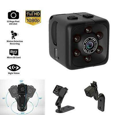 $26.89 • Buy Mini Hidden Spy Camera Portable Small 1080P Wireless Cam With Night Vision An...