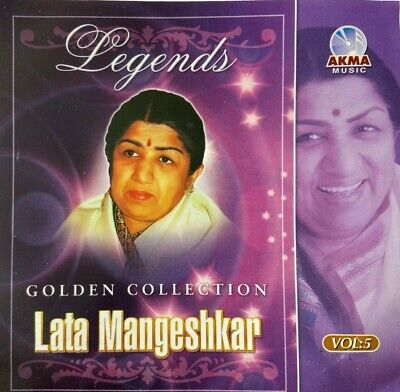 Hindi Audio CD Golden Collection For Lata Mangeshkar Vol-5 • 8.99£