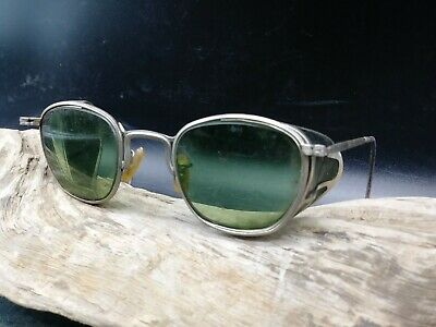 $75 • Buy Vintage American Optical Ao Safety Glasses Sunglasses Goggles (b2)