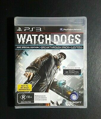 AU59.90 • Buy Watch Dogs *New / Sealed (Sony PlayStation 3) PS3 Game - *Tear On Plastic Seal*