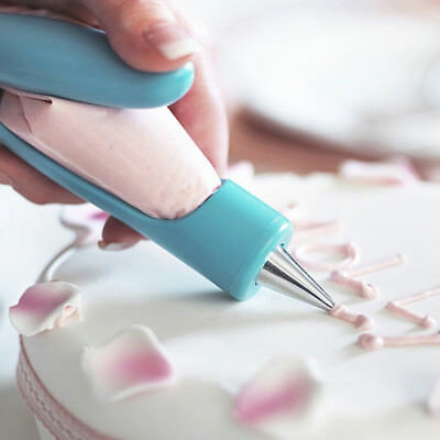 Home Cake Decorating Pen Pastry Icing Piping Bag Nozzle Tips Fondant Cake Tool • 7.71£