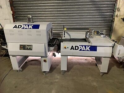 Adpak FP560a Auto L-Sealer With T450 Shrink Tunnel  • 4,400£