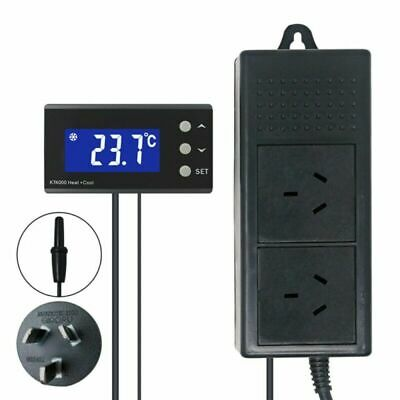 AU35.99 • Buy Digital Temperature Thermostat 240V Controller 0℃~50℃ Heating Cooling