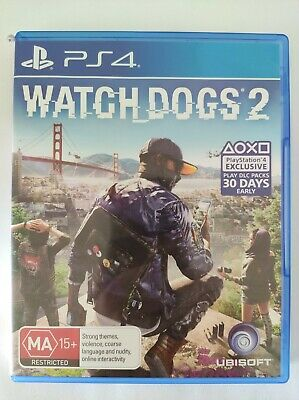 AU18.95 • Buy Watch Dogs 2 - Playstation 4 PS4 - Fast Free Post