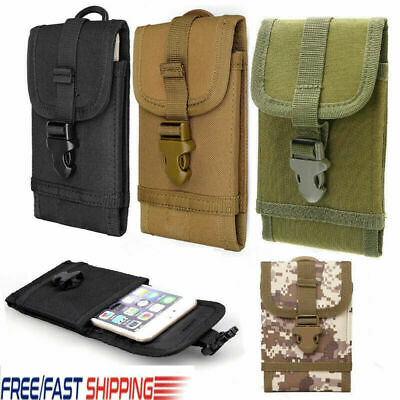 $8.99 • Buy Portable Military Fanny Pouch Belt Hip Tactical Molle Waist Bag Cell Phone Case
